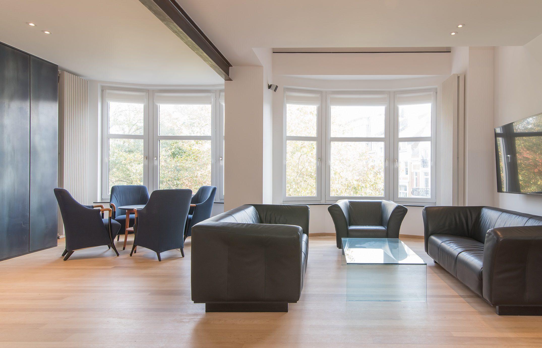 Luxe penthouse met parkzicht