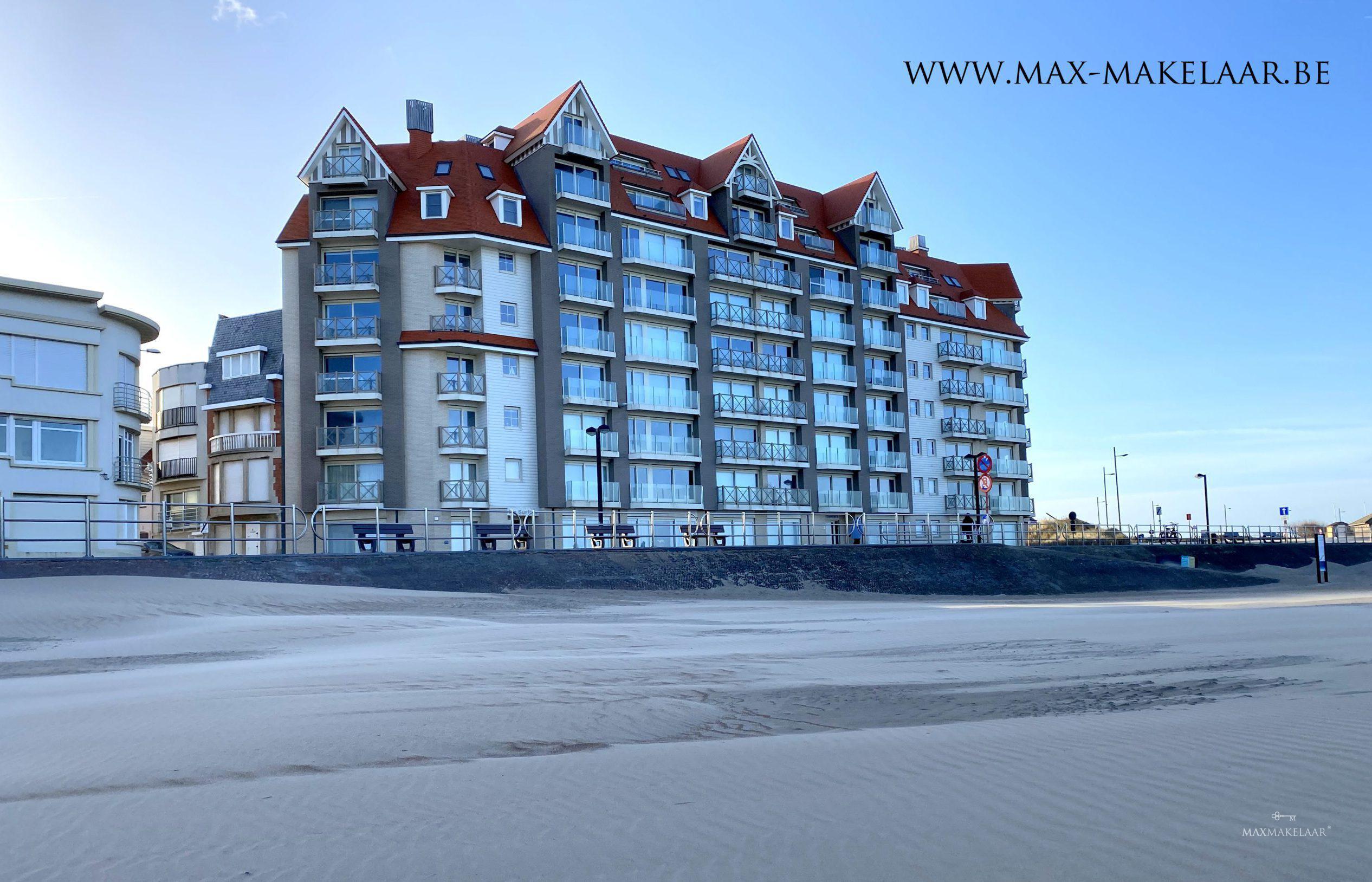 Nieuw appartement aan zee
