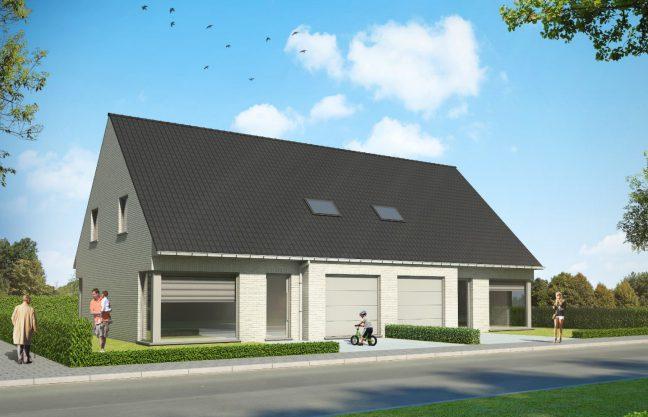 Nieuwbouw woning te Bredene
