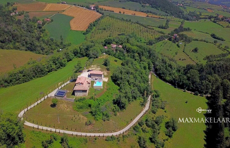 Dubbele villa op domein La Collina in Italië