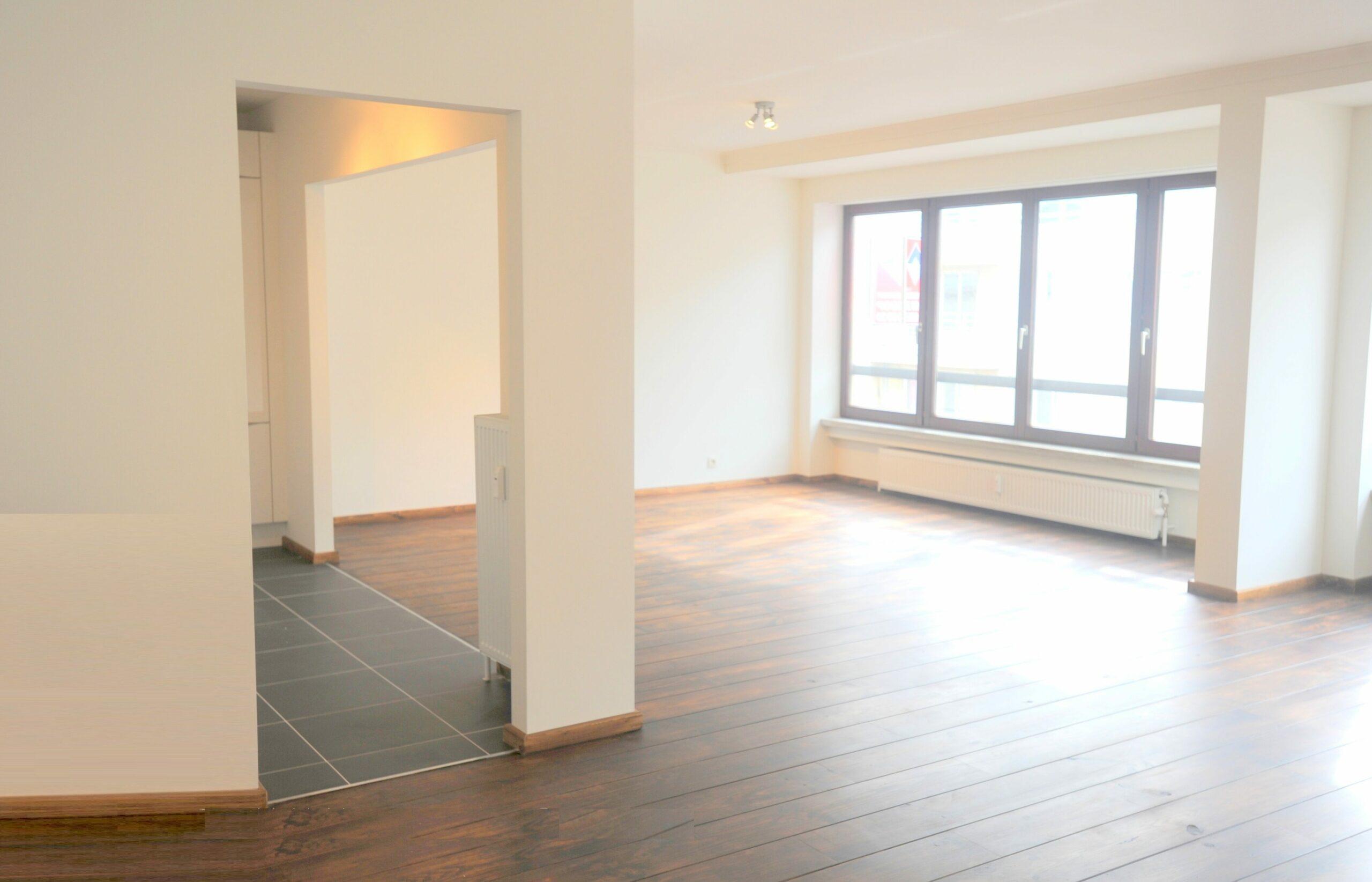 Gerenoveerd appartement te Oostende