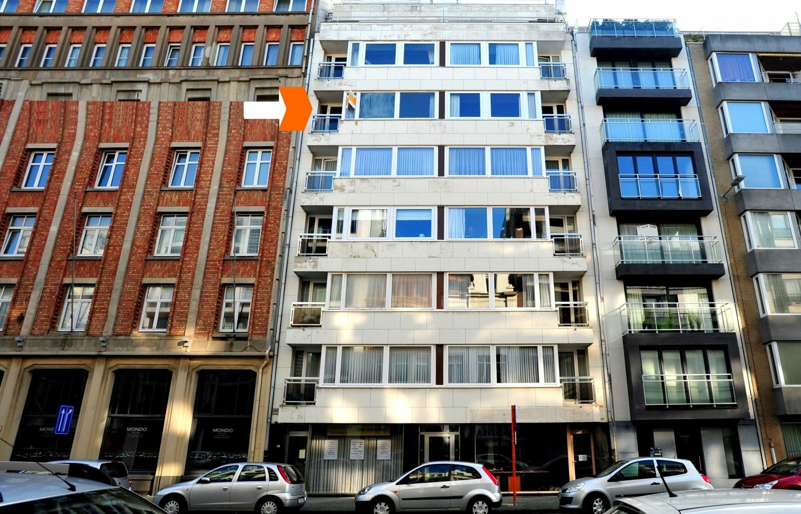 Appartement te Oostende