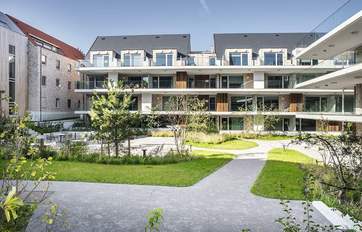 Assistentiewoningen in residentie Clarenhof te Nieuwpoort