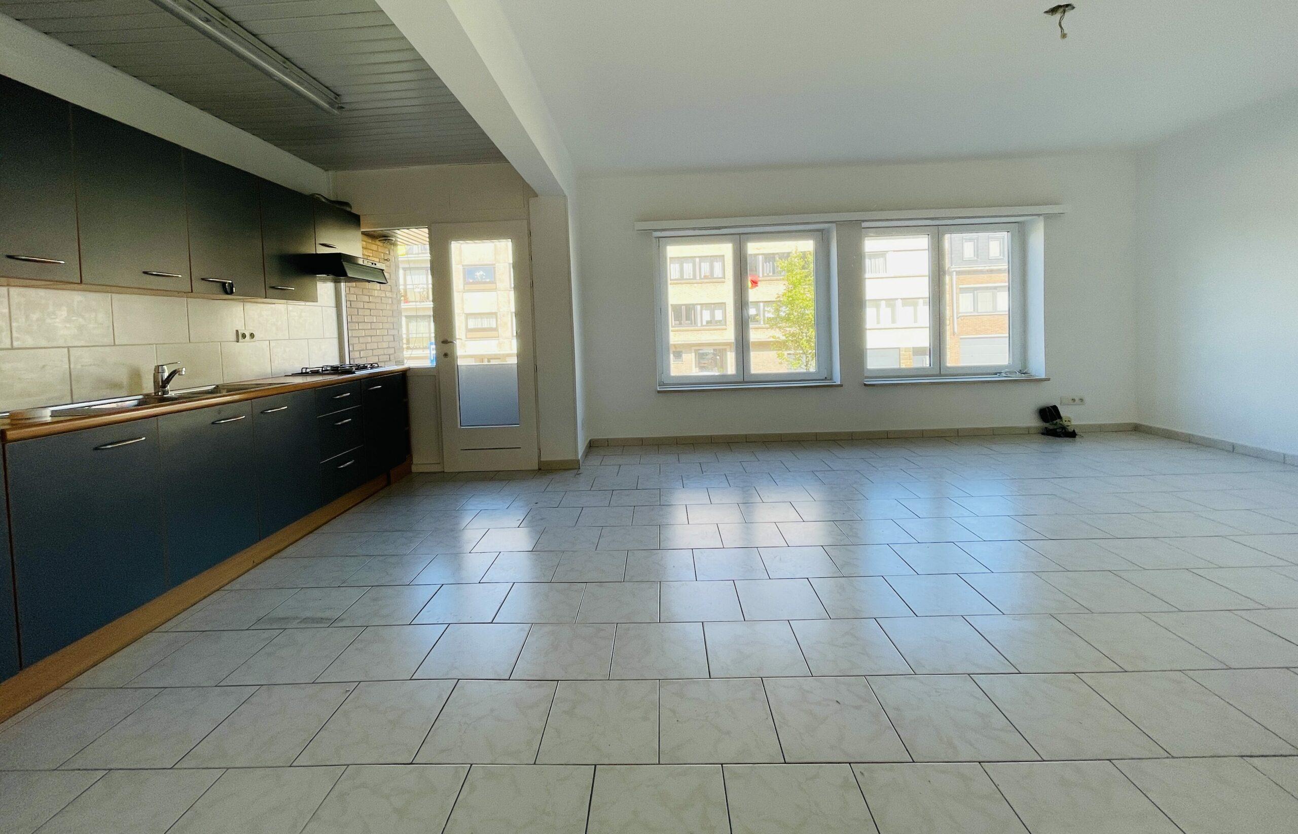 Appartement met open zicht te Oostende
